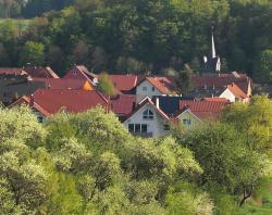 Unser Seminarraum im Biosphärenreservat Rhön